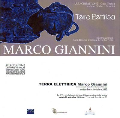 Terra Elettrica - Sculptures by di Marco Giannini