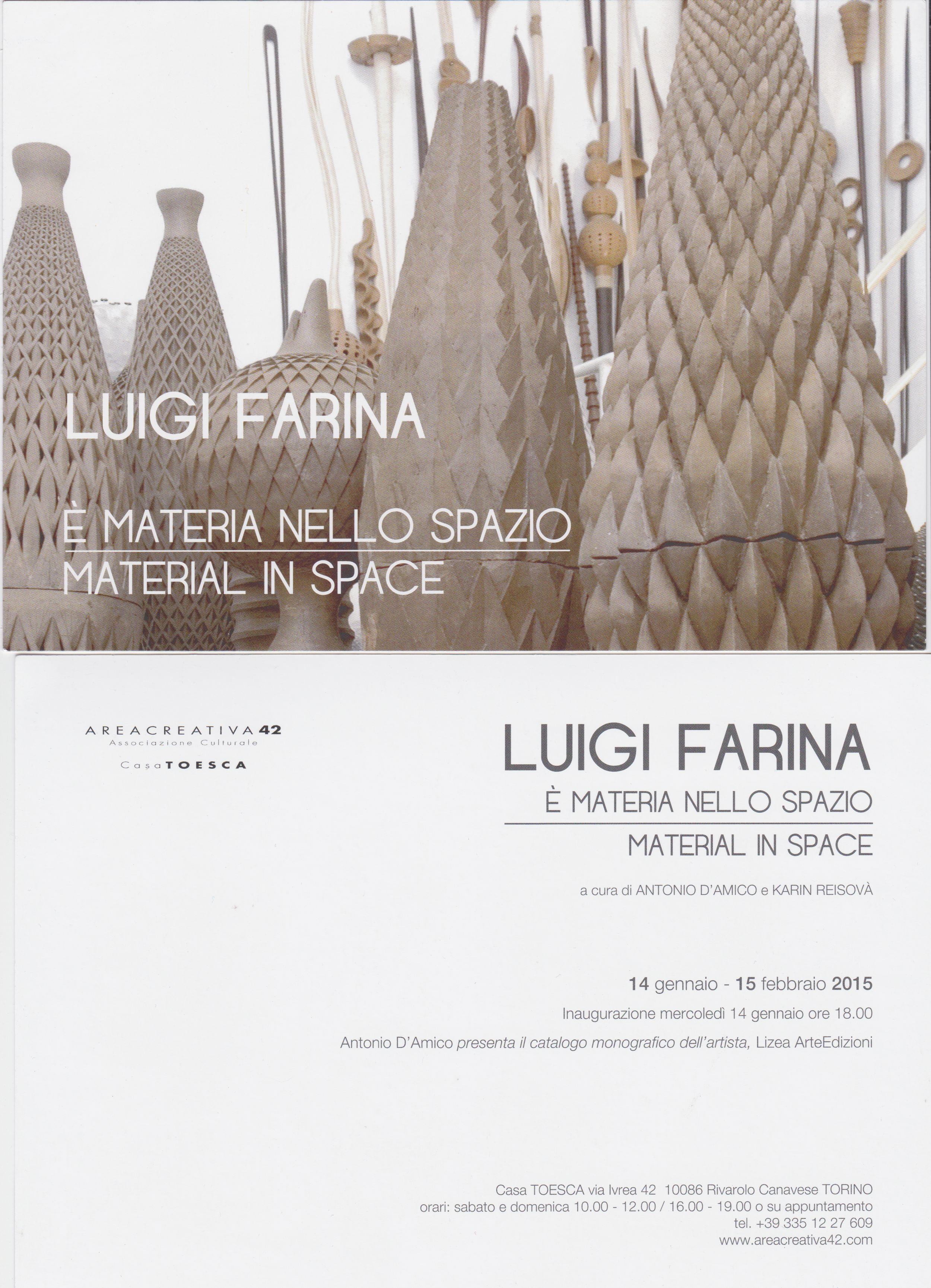 Luigi Farina - E' materia nello spazio
