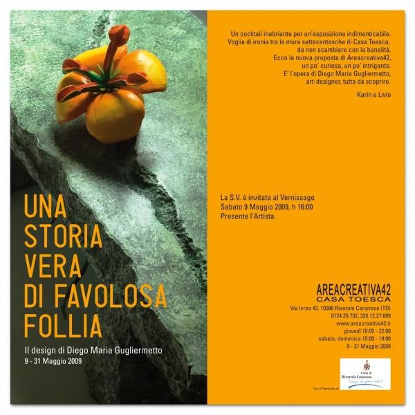 UNA STORIA VERA DI FAVOLOSA FOLLIA - Il design di Diego Maria Gugliermetto