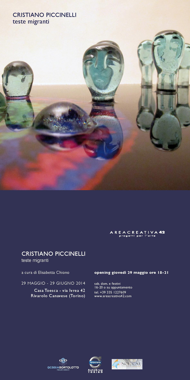 Migrant heads by Cristiano Piccinelli