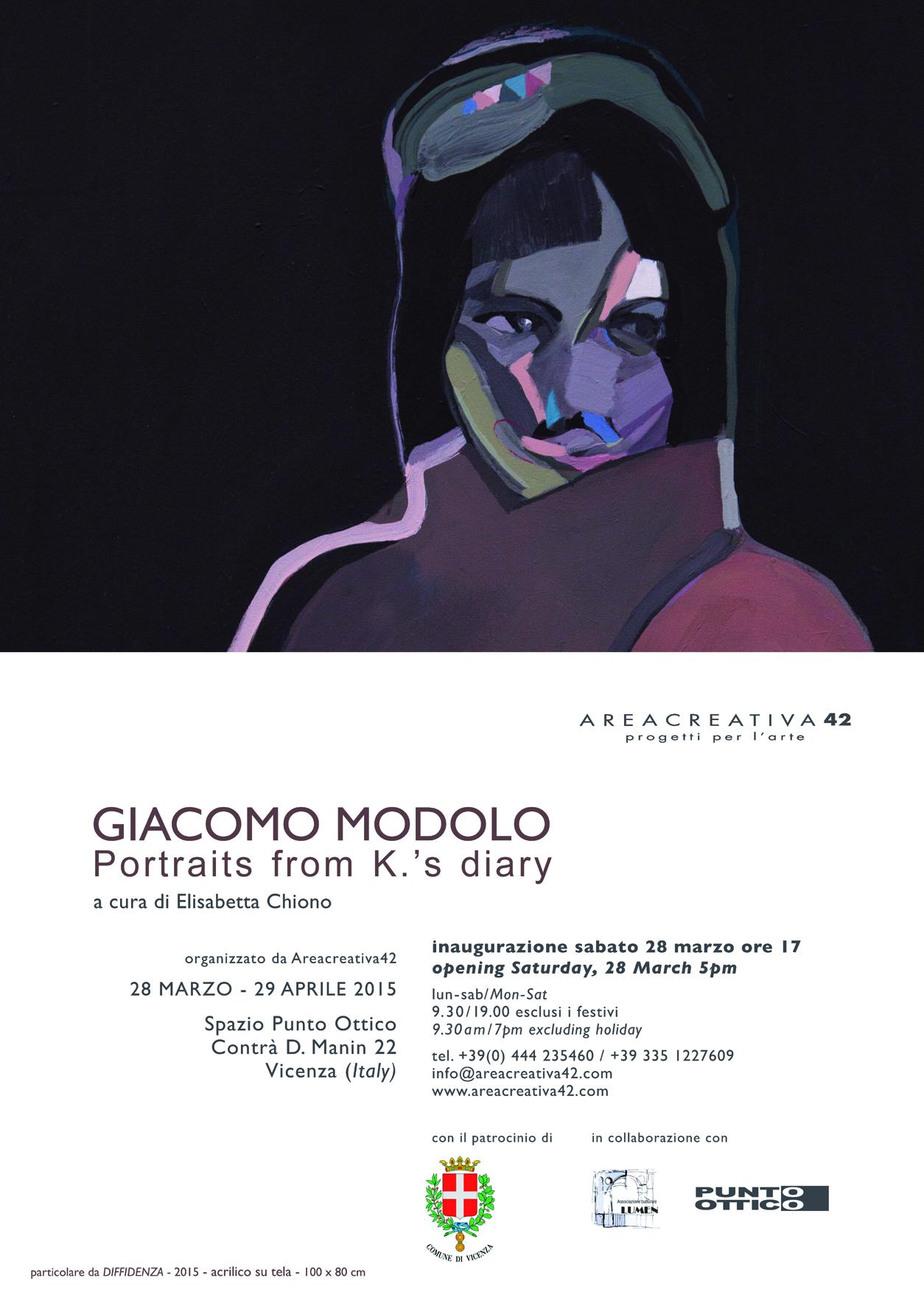 Giacomo Modolo - Portraits from K.'s diary